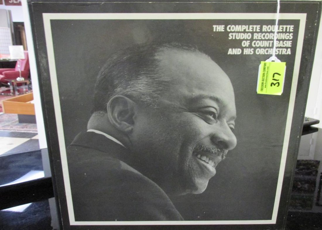 COUNT BASIE & HIS ORCHESTRA ROULETTE STUDIO RECORDINGS