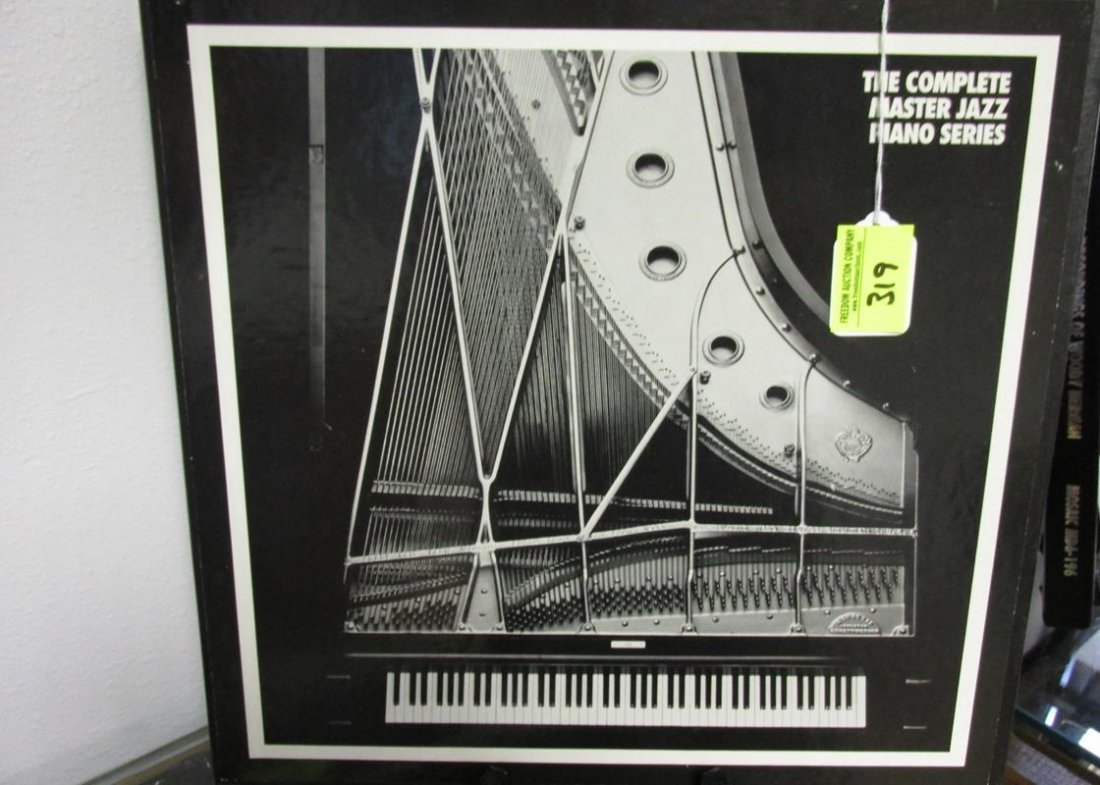 THE COMPLETE MASTER JAZZ PIANO SERIES