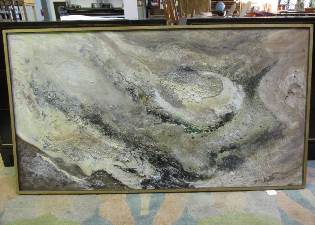 "CLARA ROELLIG ""BACKWATER SEDIMENT"" ABSTRACT ART ON"