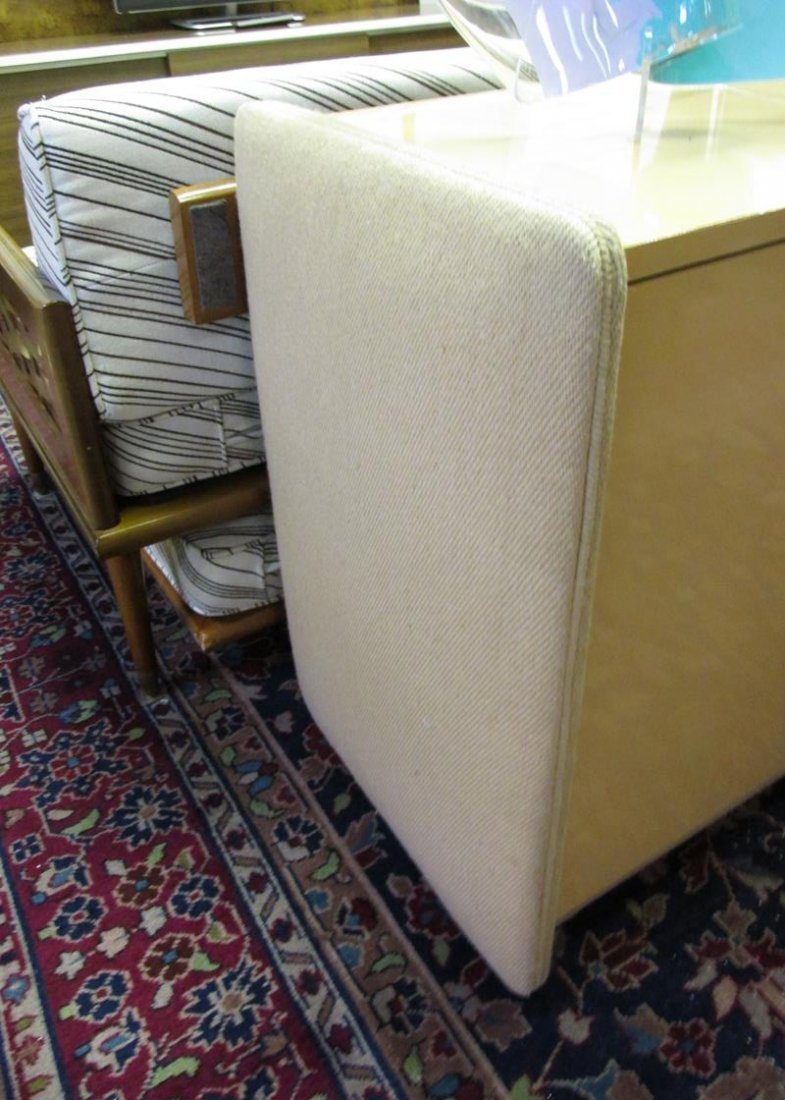 MILO BAUGHMAN CREDENZA WITH FABRIC SIDES - 2