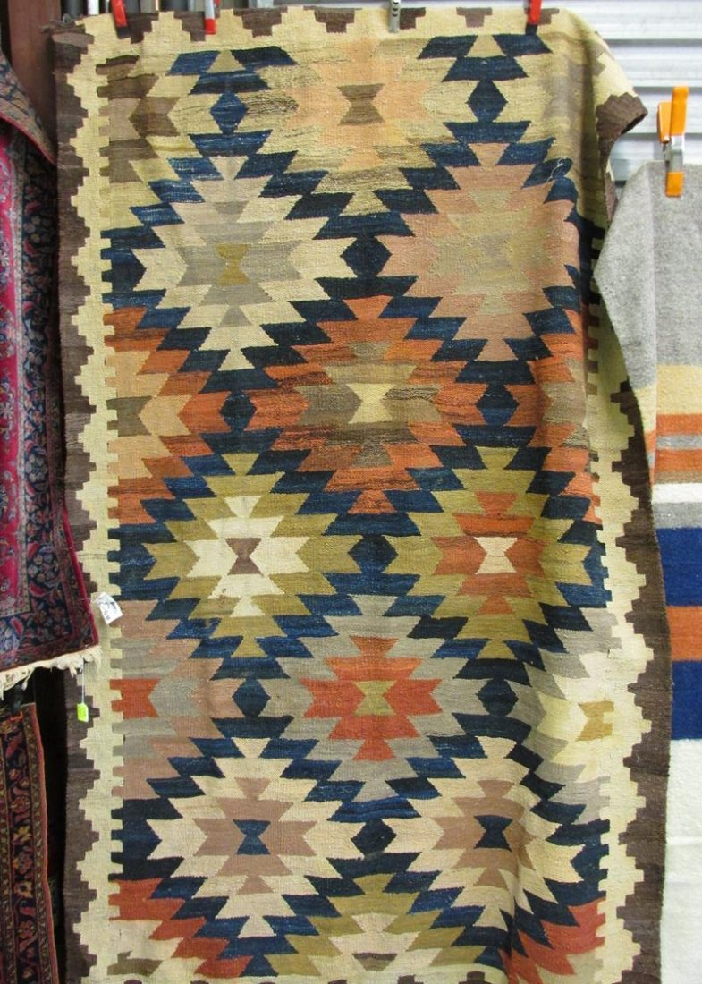 KILIM RUG, FLAT WEAVE, ALL WOOL
