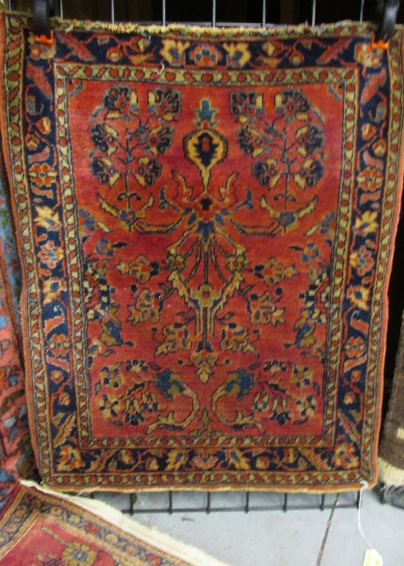 SAROUK-STYLE SCATTER RUG