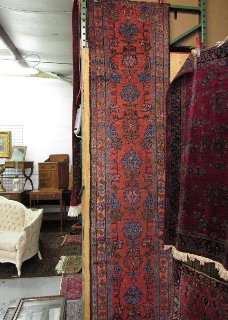 SEMI-ANTIQUE 60+YRS. TRIBAL PERSIAN RUNNER
