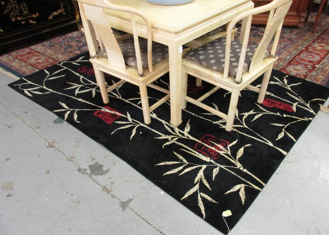 ASIAN MACHINE MADE AREA RUG