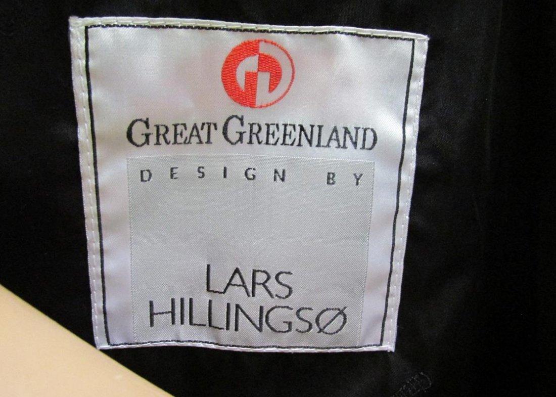 LARS HILLINGSO FOR GREAT GREENLAND BLUE SEAL COAT - 3