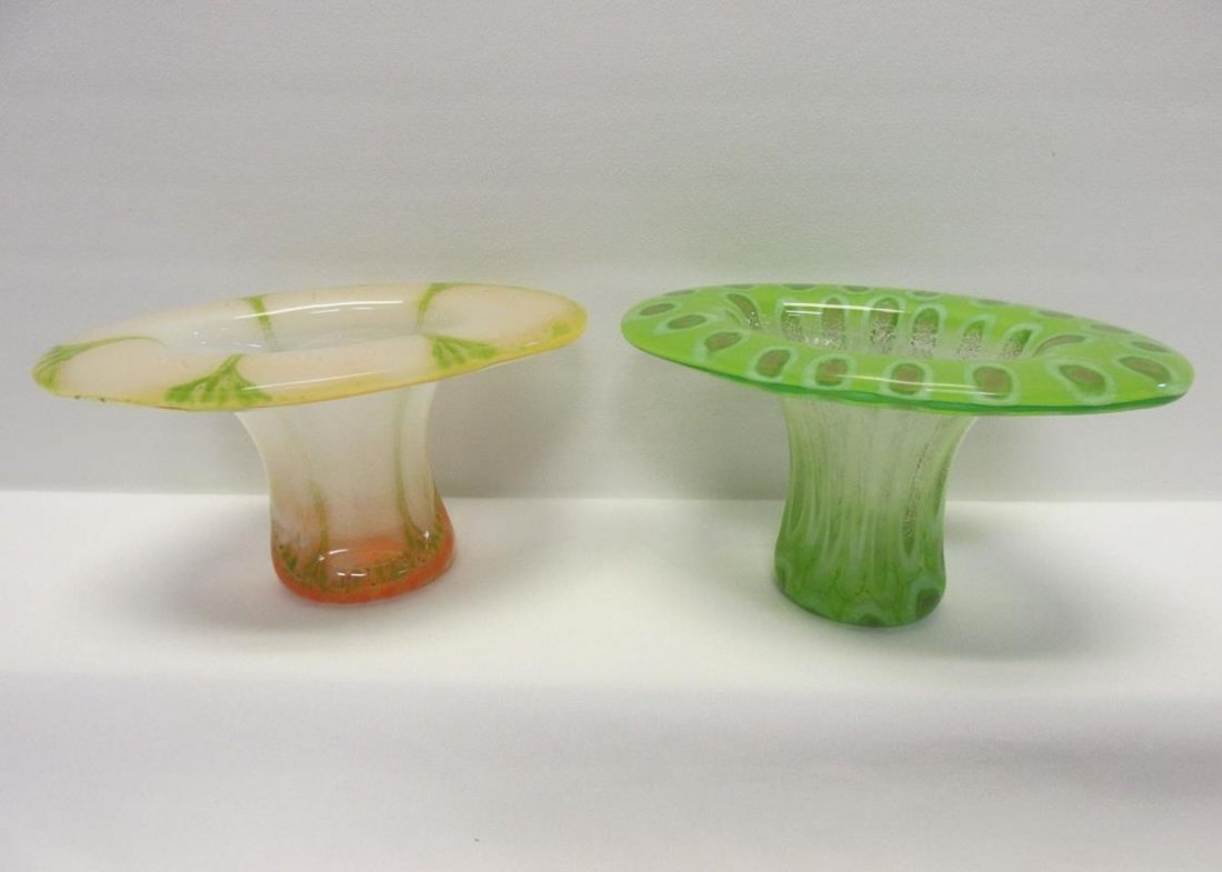 4 FRANCIS & MICHAEL HIGGINS DROP-OUT VASES - 3