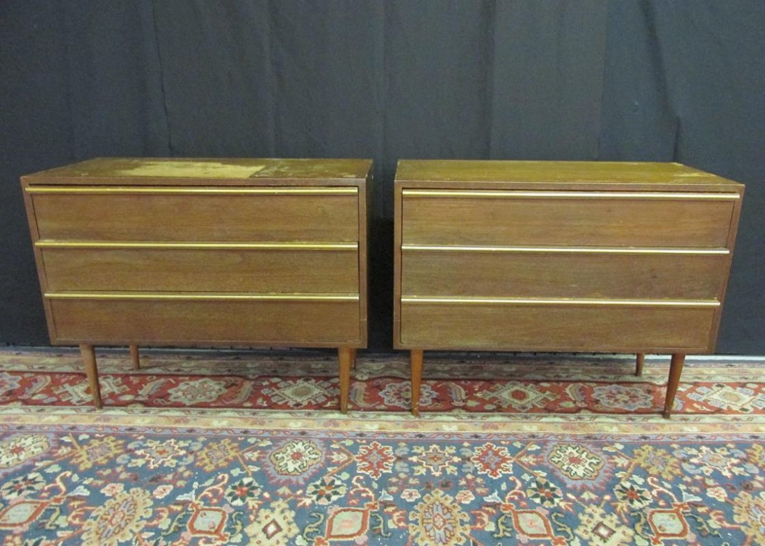PAIR OF PROJECT DRAWERED CABINETS