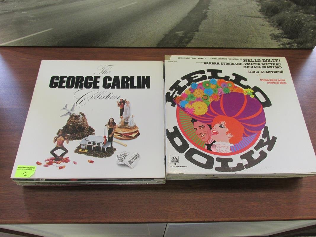 COLLECTION OF VINTAGE RECORDS