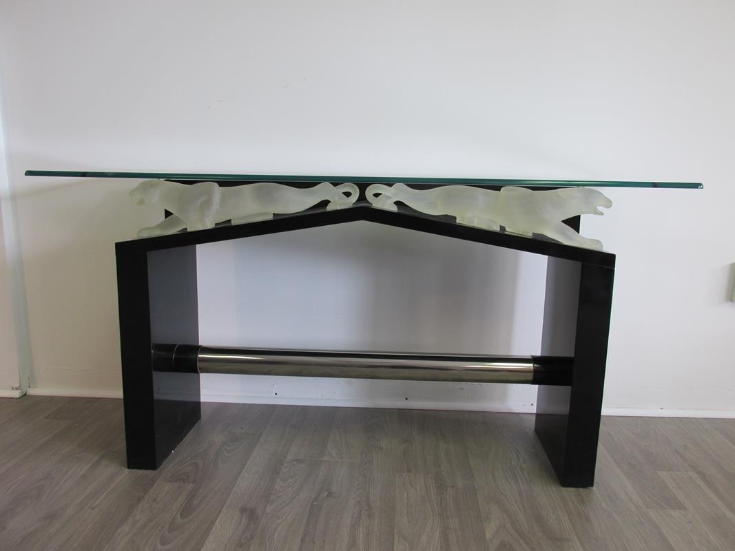 ITALIAN JAGUAR BASE CONSOLE TABLE