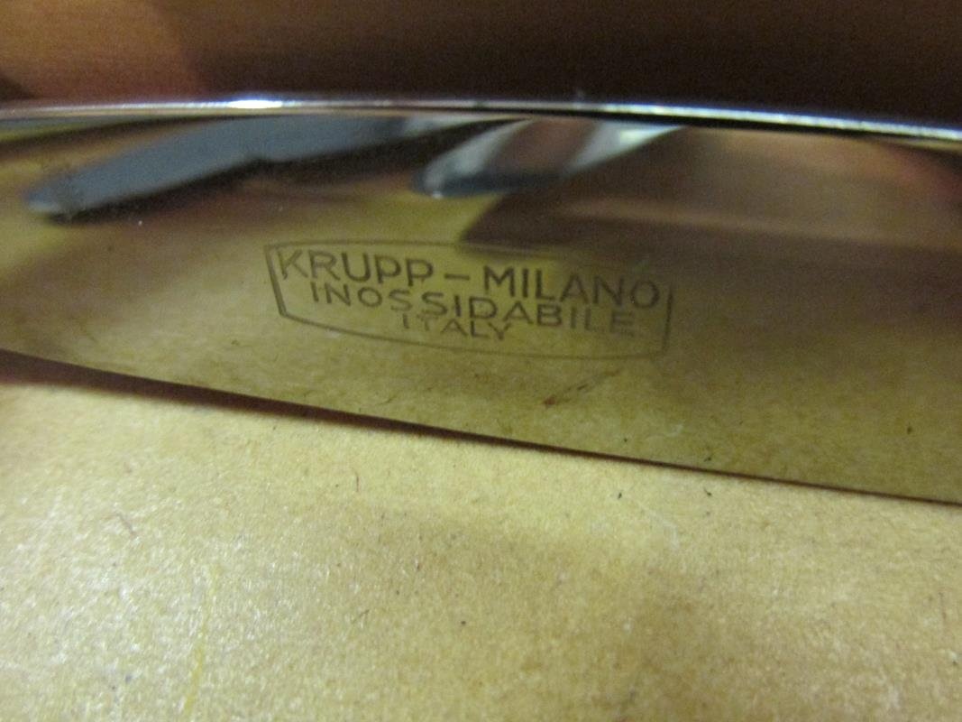 GIO PONTI MILANO FLATWARE FOR ART. KRUPP/ITALY - 2