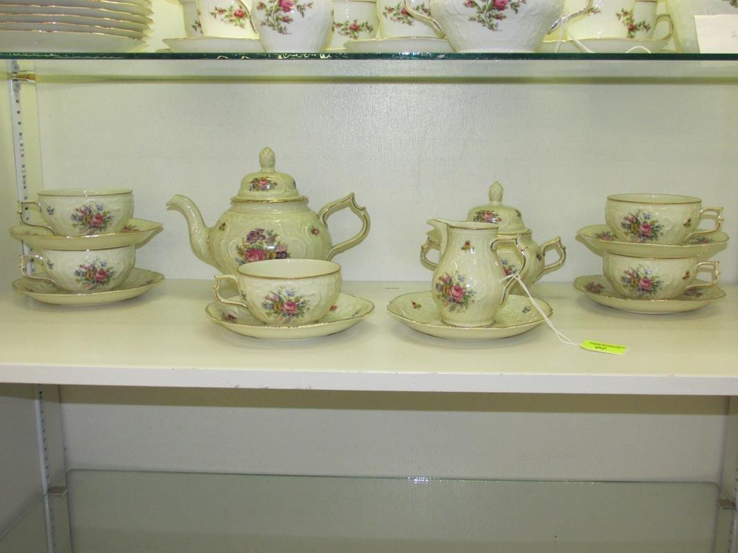 16 PC. ROSENTHAL-GERMANY TEA SET