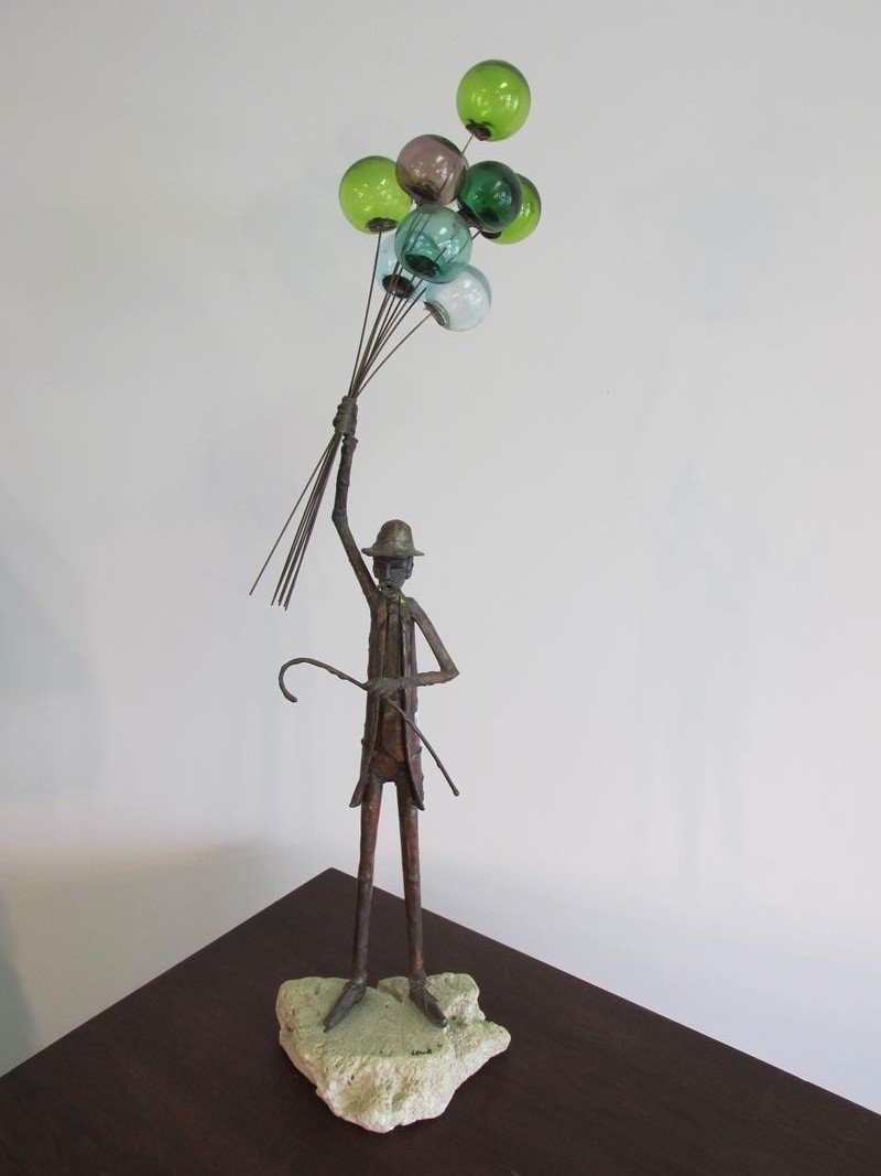 JIM LEWK BRONZE ART SCULPTURE