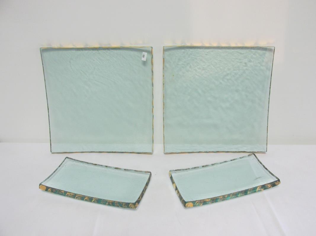 4 PC. ANNIE GLASS ITEMS