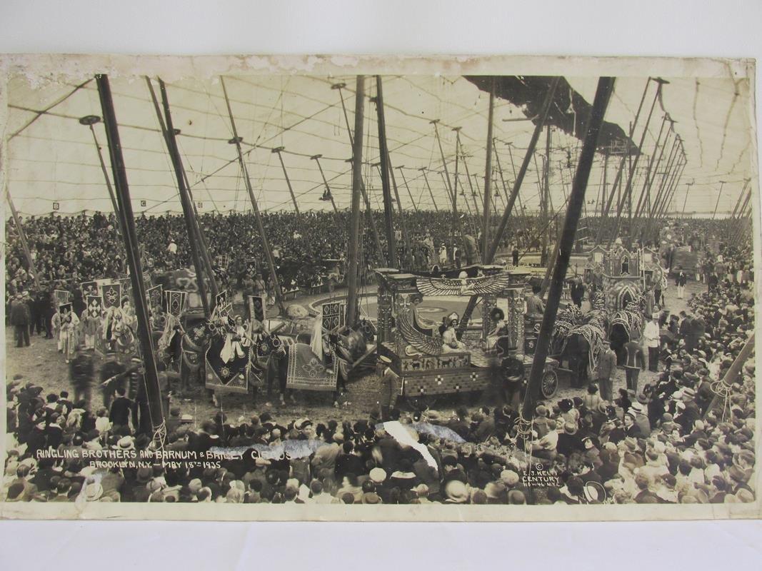 1935 RINGLING BROS. PANORAMIC CIRCUS PHOTOGRAPH