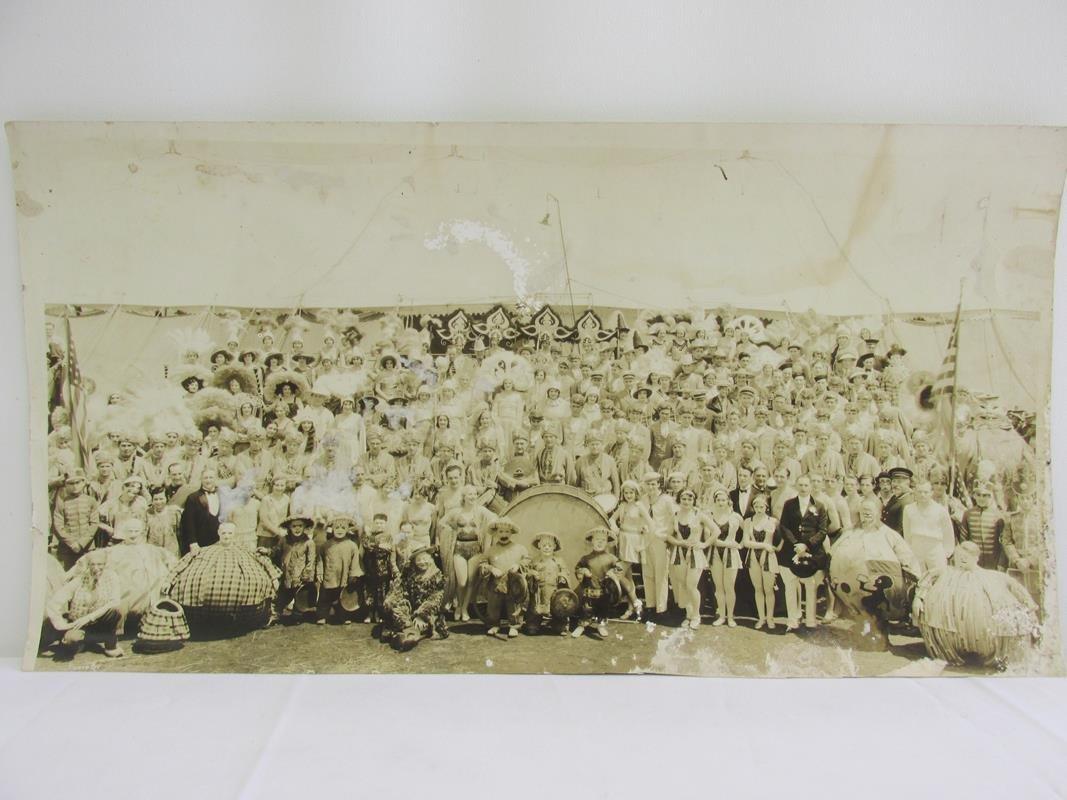 1930'S RINGLING BROS. PANORAMIC CIRCUS PHOTOGRAPH