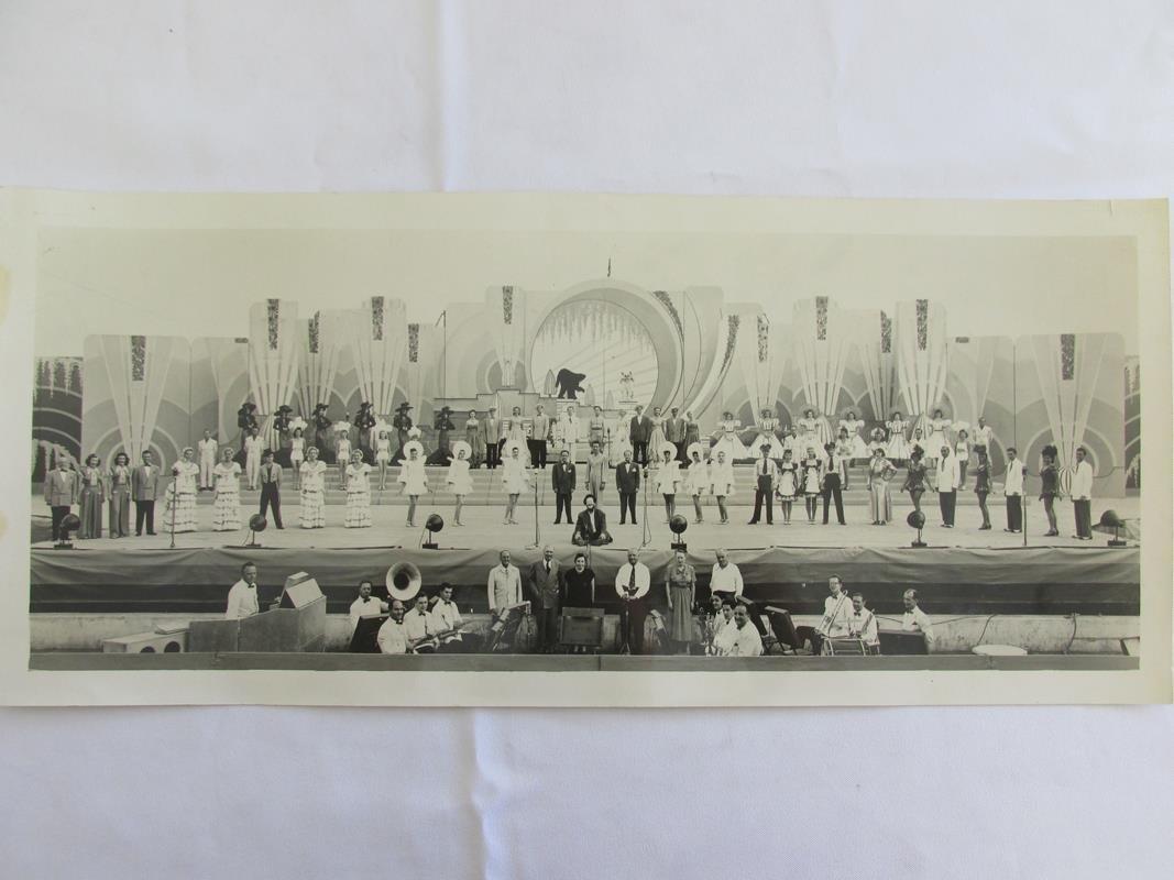 1930'S IONIA FREE FAIR PANORAMIC PHOTOGRAPH