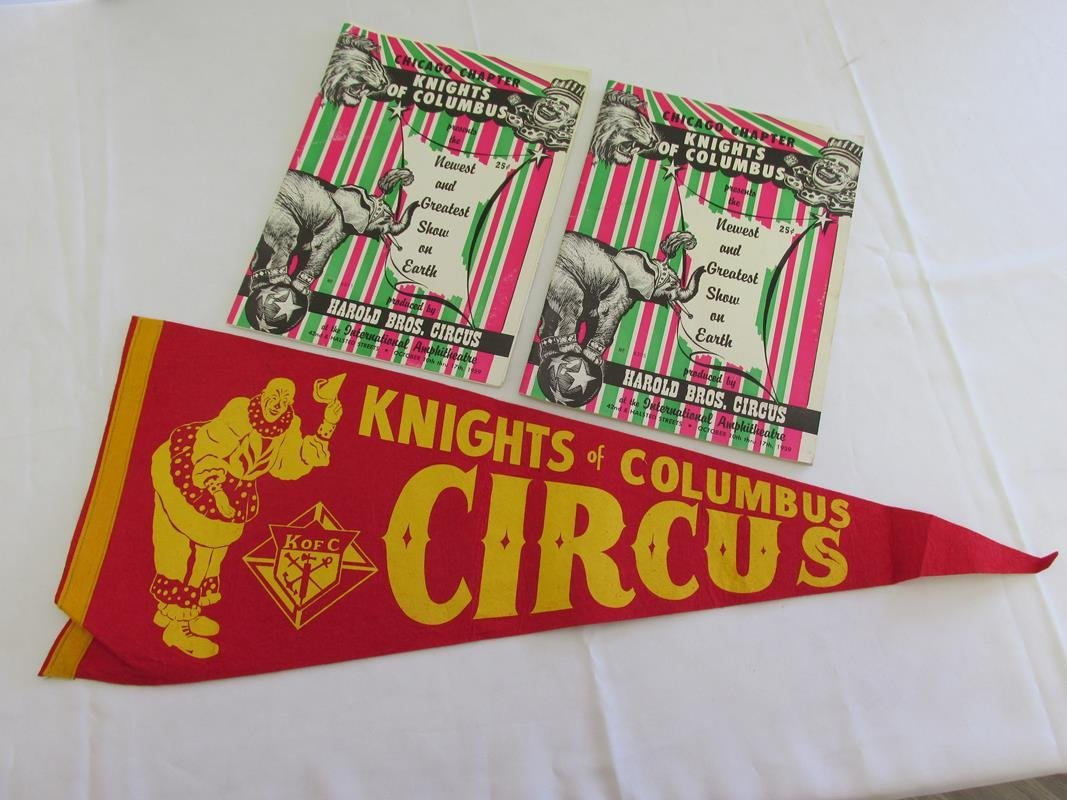 1959 KNIGHTS OF COLUMBUS, CHICAGO CIRCUS