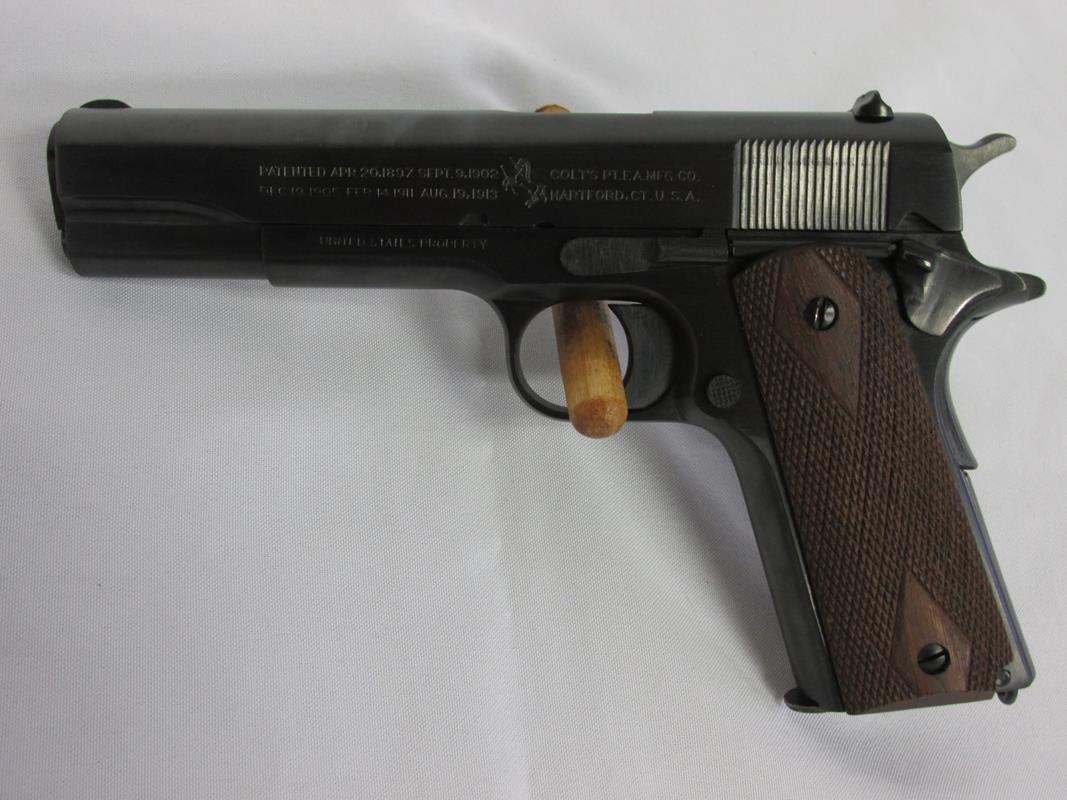 1918 COLT 45 M1911 PISTOL, US GOVERNMENT