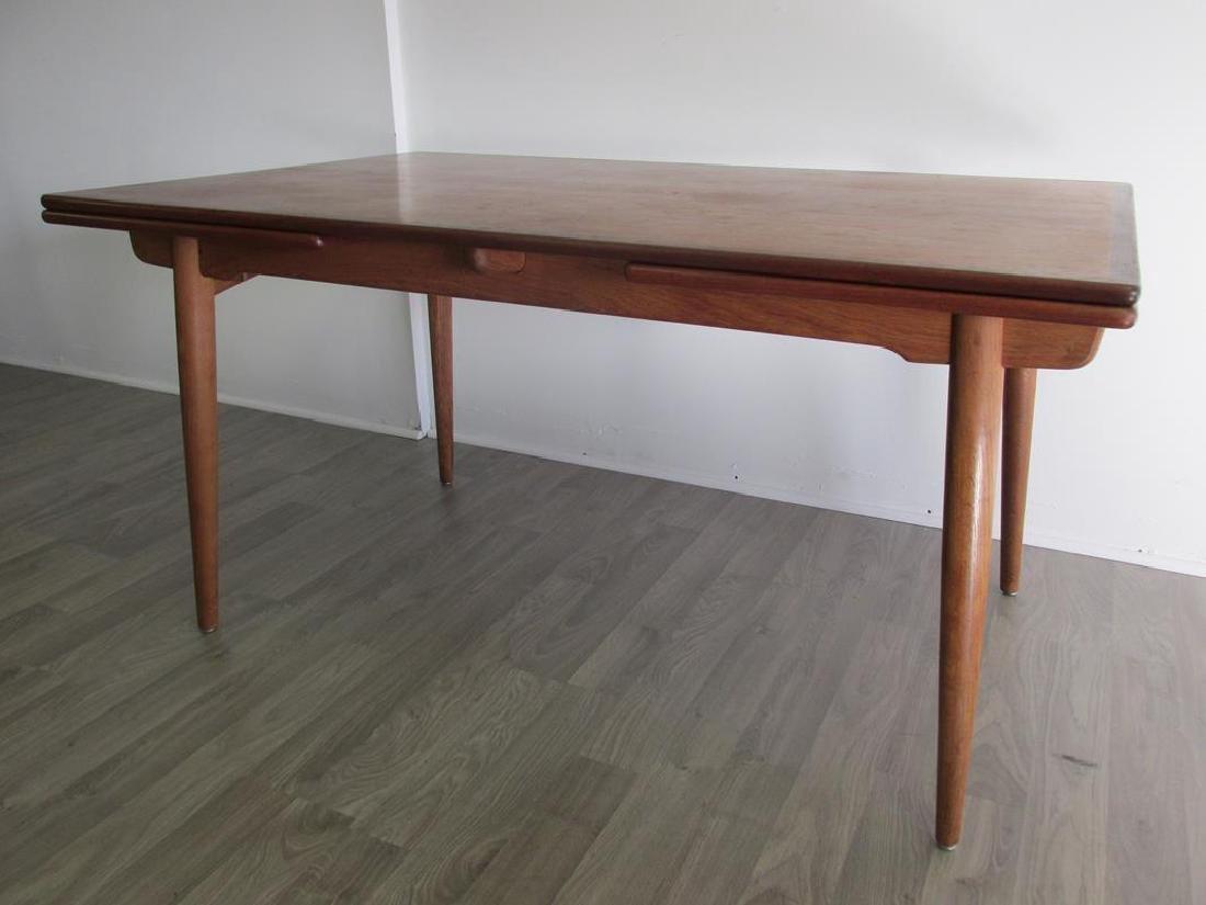 HANS J. WEGNER FOR ANDR. TUCK, DENMARK, DINING TABLE