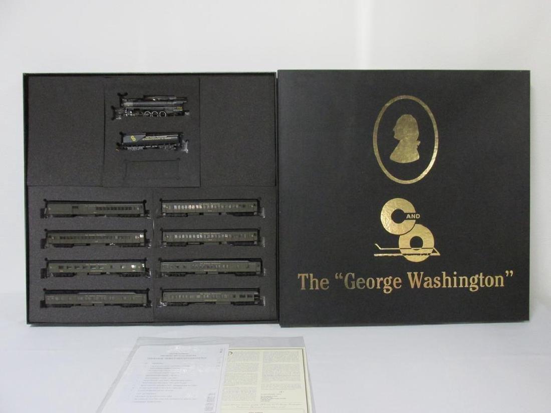 BACHMANN GEORGE WASHINGTON HO SCALE TRAIN SET