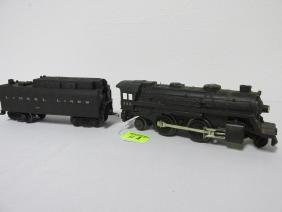 LIONEL TRAIN #243 LOCOMOTIVE & TENDER