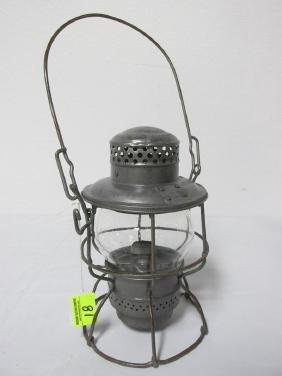 UNION PACIFIC CLEAR GLOBE RAILROAD LANTERN