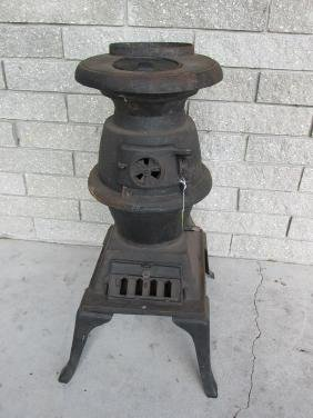 CAST IRON POTBELLY CABOOSE STOVE
