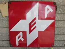 RAILWAY EXPRESS AGENCY LOGO TIN SIGN
