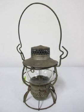 B&M CLEAR GLOBE RAILROAD LANTERN