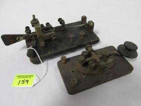 PAIR OF TELETYPE SWITCHES