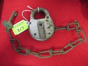 B&M RAILROAD SWITCH LOCK AND KEY