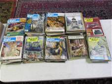 LARGE COLLECTION OF RAILROAD MODELER MAGAZINES