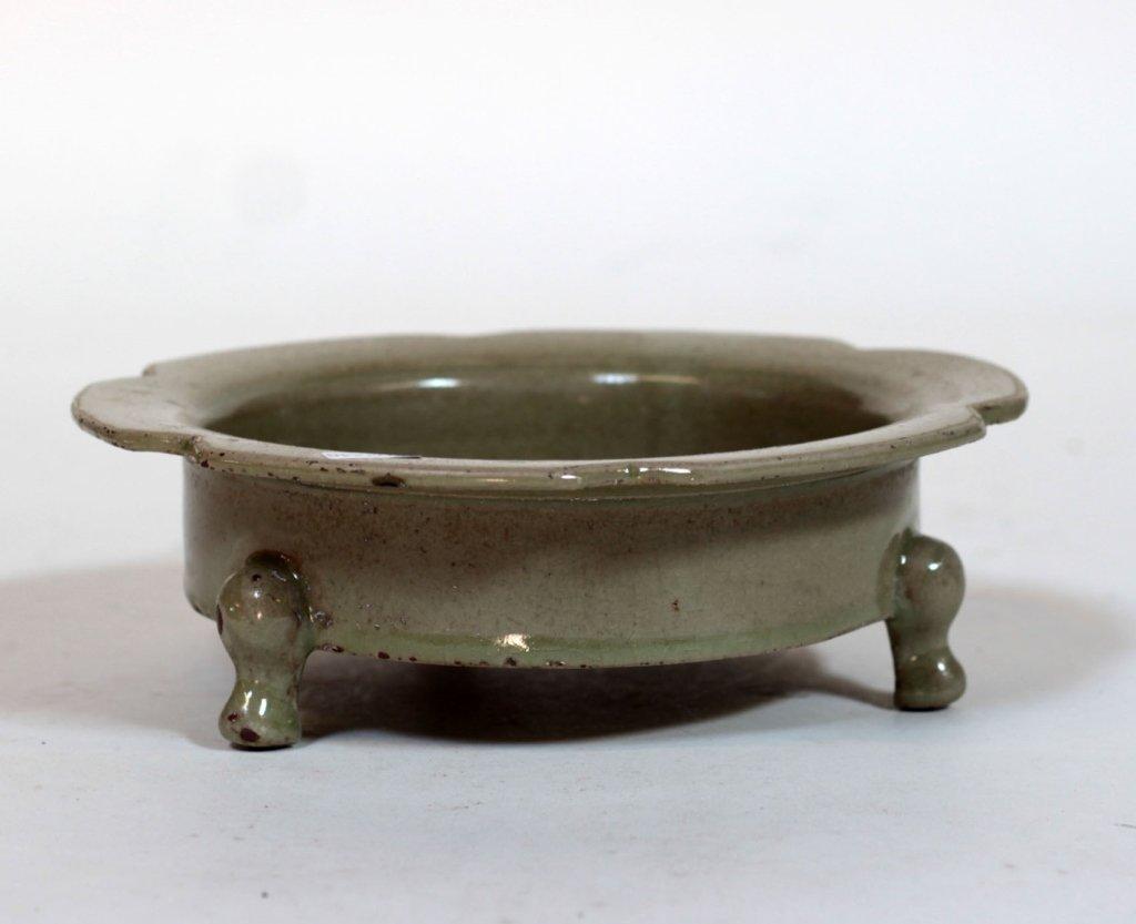 Chinese Antique Song Celadon Porcelain Brush Wash