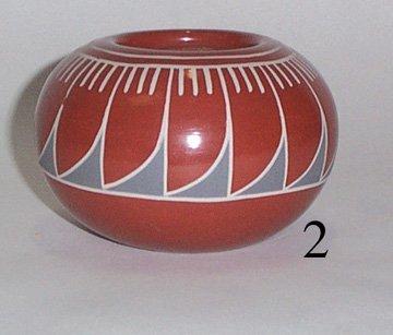 2: SANTA CLARA POTTERY JAR