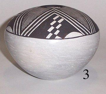 3: ACOMA POTTERY SEED JAR