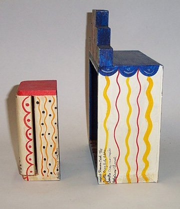 75: TWO NEW MEXICAN ALTAR BOXES - 2