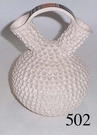 502: ACOMA POTTERY WEDDING VASE