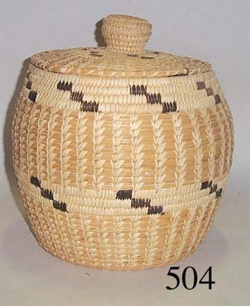 504: PAPAGO BASKET
