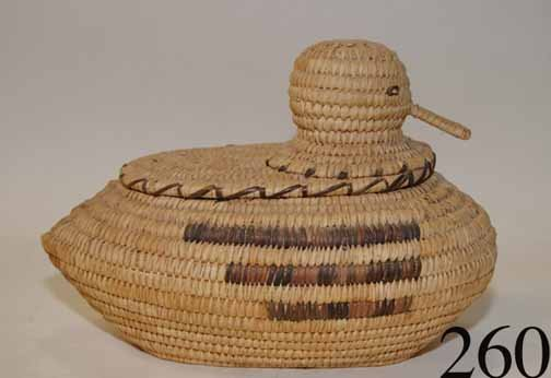 261: PAPAGO BASKETRY DUCK