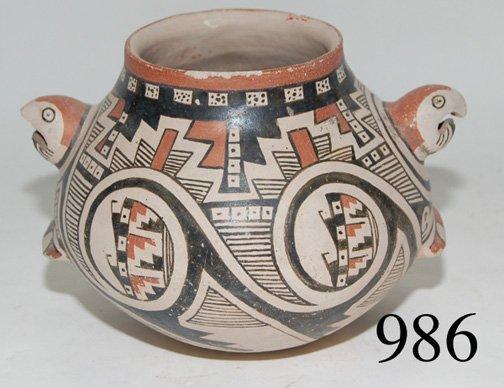 986: CASAS GRANDES POTTERY EFFIGY JAR