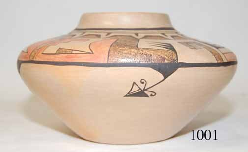 1001: HOPI POTTERY JAR