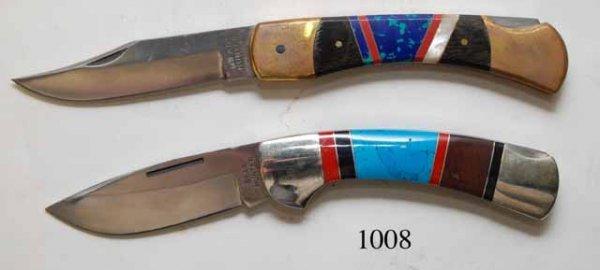 1008: TWO FOLDING KNIVES