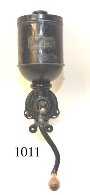1011: ANTIQUE COFFEE GRINDER