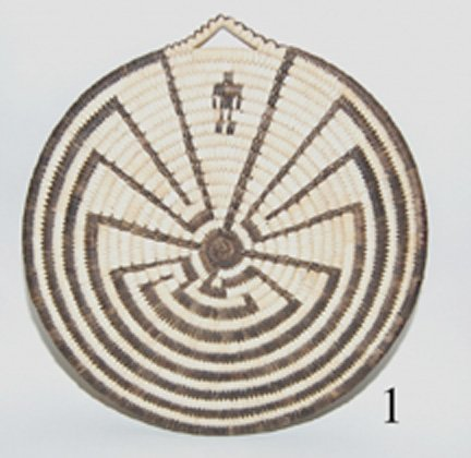 1: PAPAGO BASKETRY PLAQUE