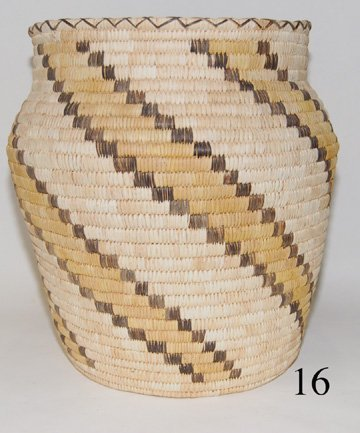 16: PAPAGO BASKETRY OLLA