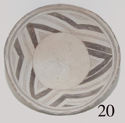 20: MIMBRES POTTERY BOWL