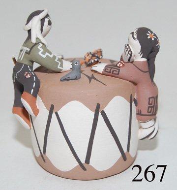 267: ACOMA POTTERY FIGURE