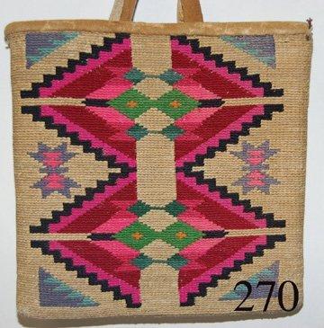 270: NEZ PERCE CORN HUSK BAG