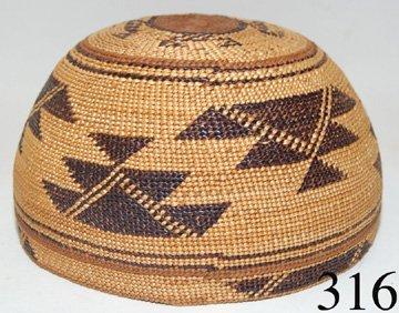 316: HUPA BASKETRY HAT