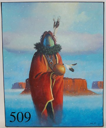 509: NAVAJO PAINTING